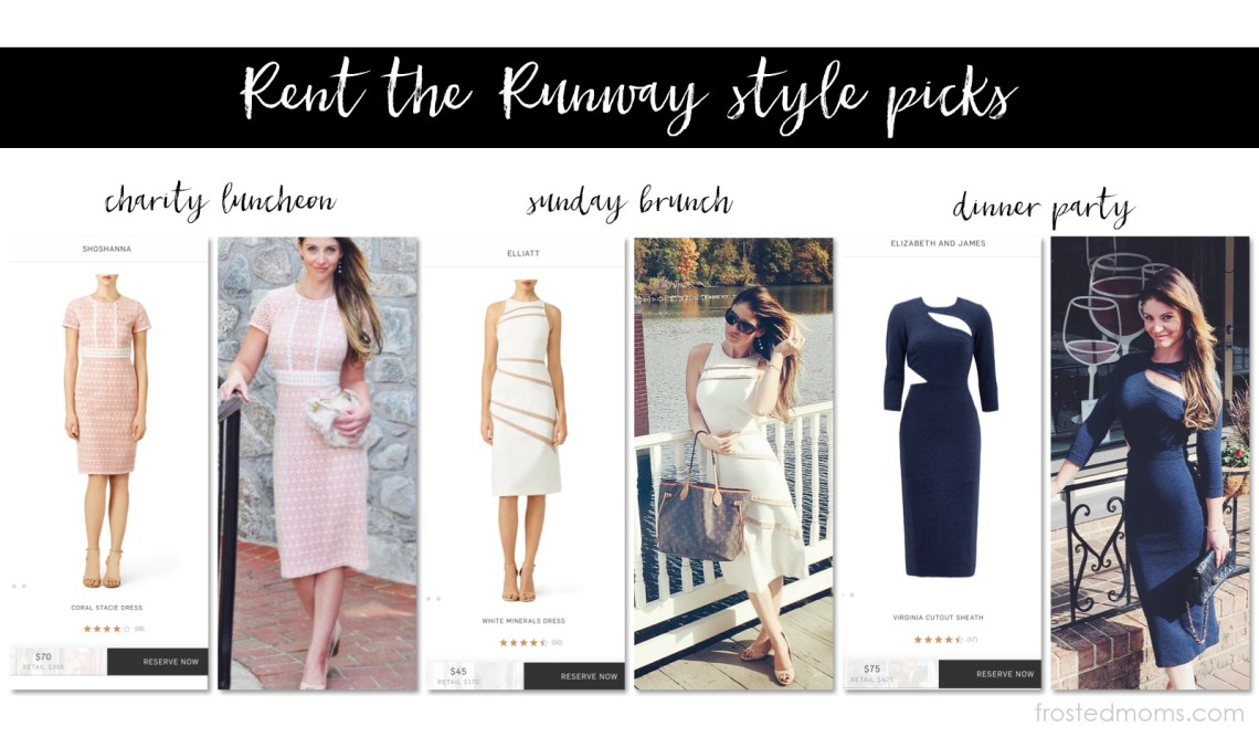 Rent the Runway Dresses Favorite Looks via Misty Nelson @frostedvents