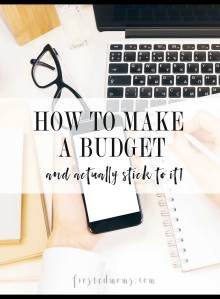 Family Budgeter Tips How to Handle Family Budget and Manage Household Finances minus the stress via Misty Nelson, mom blogger at frostedmoms.com @frostedevents