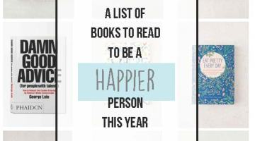 How to Be Happy, or Happier, This Year via Misty Nelson frostedMOMS blog @frostedevents A reading list and field guide to finding happiness in your love life, work life , home life