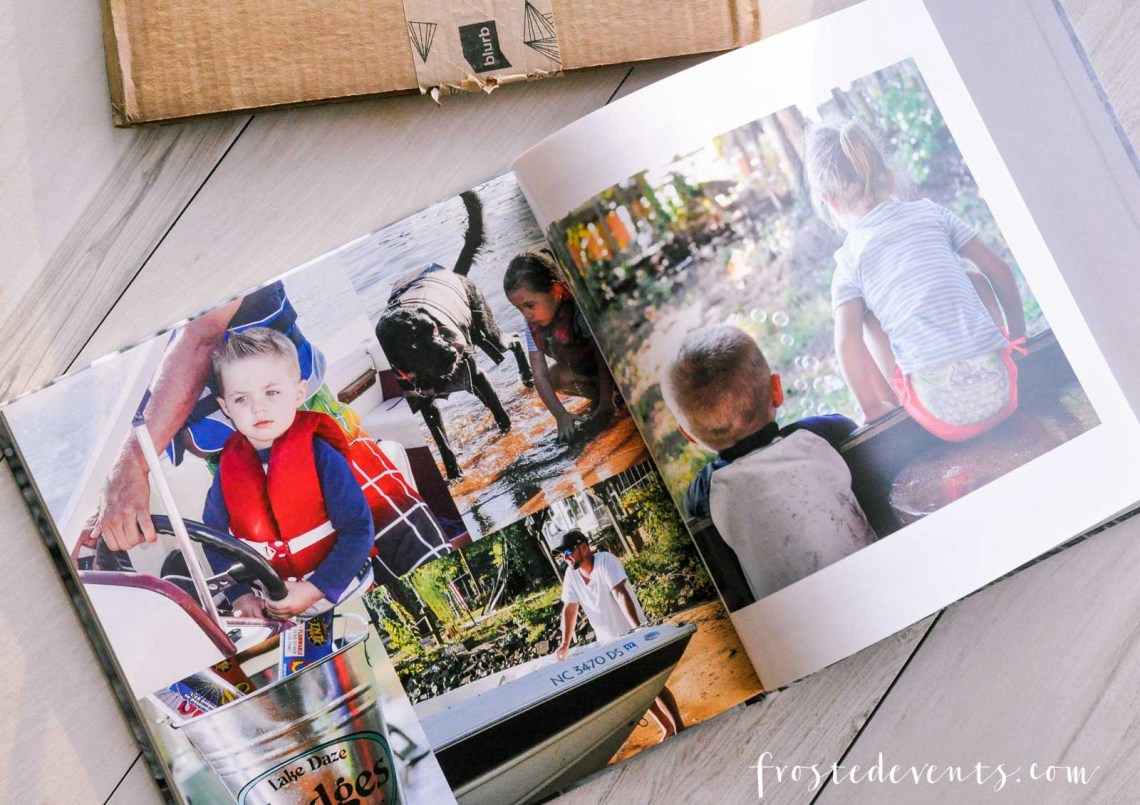 Make a Photo Book of Memories with Blurb via Misty Nelson frostedMoms @frostedevents
