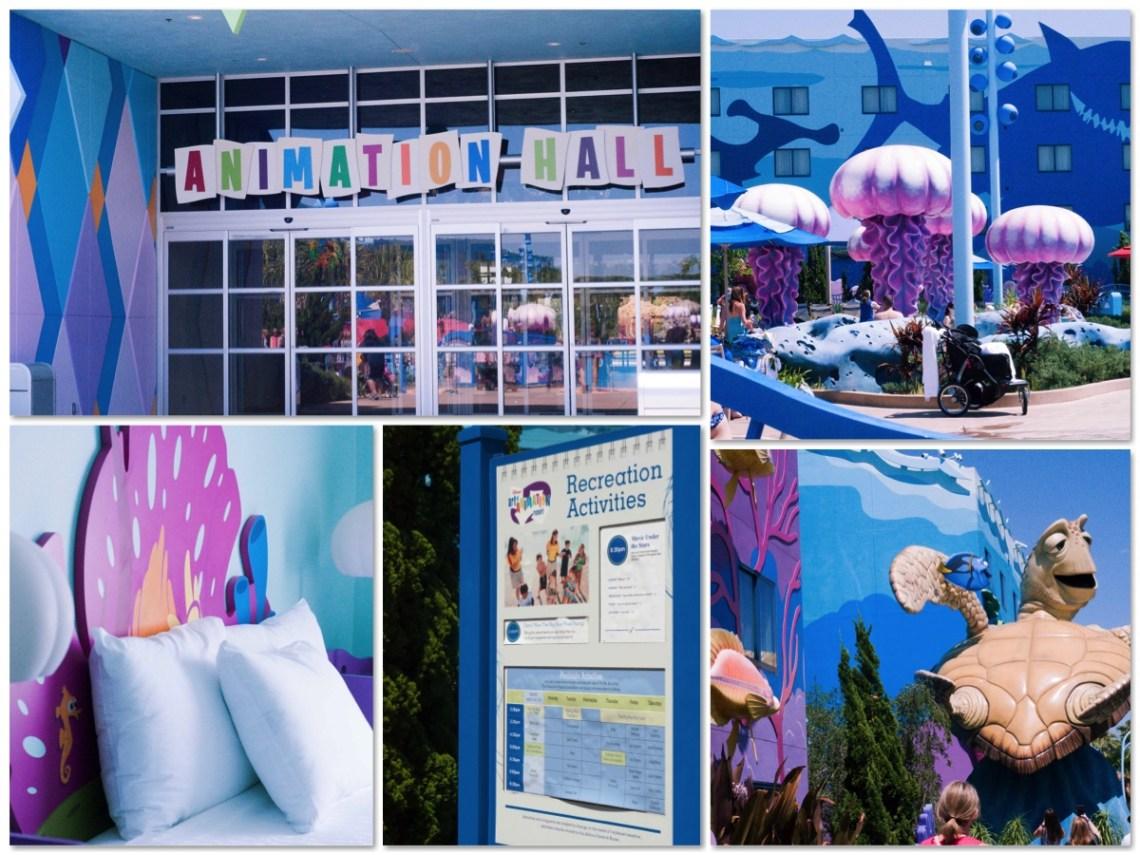 Disney World Resorts Disney Themed Rooms Art of Animation resort Disney Hotels via Misty Nelson @frostedevents