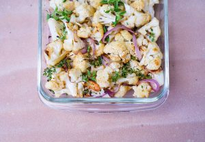 Roasted Cauliflower Recipe - Make This Delicious Cauliflower Dish, Vegetarian Meal on the Healthy Recipes List via Misty Nelson frostedMOMS.com @frostedevents