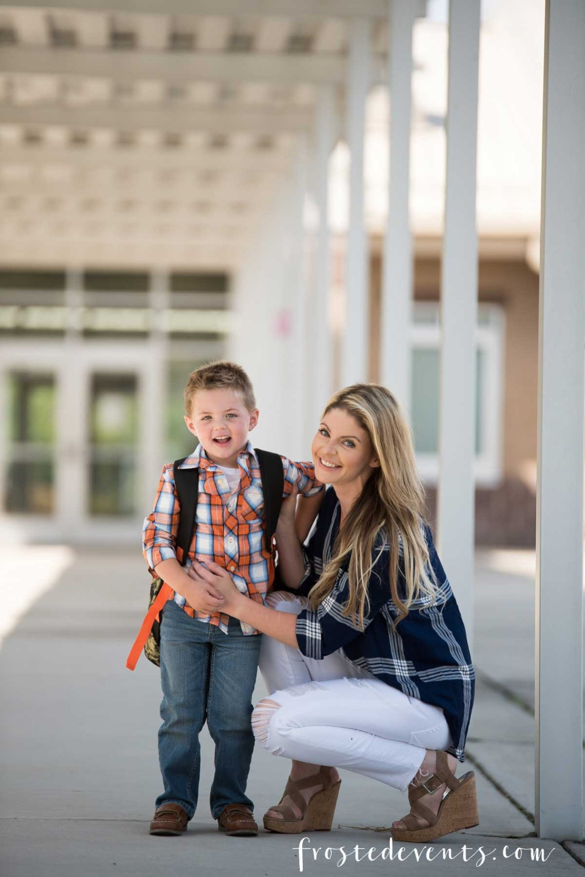 Back to School Style Shopping - Kids Clothing & Fashion Trends via Misty Nelson frostedMOMS @/yasminleonardphotography NC Family Photographer yasminleonard.com
