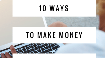 Make Money Doing Nothing - 10 Ways to Make Smart Passive Income --- earn money online, make money at home, tips via Misty Nelson, Influencer frostedblog.com