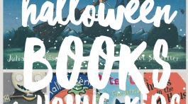 Halloween Books for Kids - Children's Reading List of Halloween Favorites via Misty Nelson, mom blogger @frostedevents