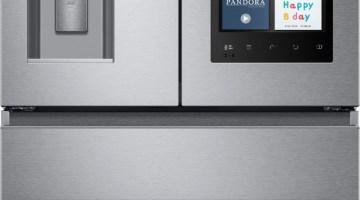 Samsung Refrigerator Samsung Family Mobile Hub Fridge - Holiday Prep Help via Misty Nelson , tech blogger and influencer