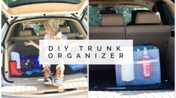 Car Hacks - DIY Trunk Organizer to Contain Your Mom Life Mess