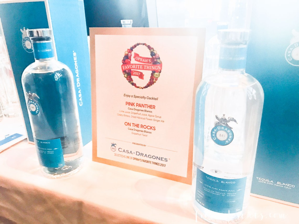 Oprah's Favorite Things 2017 Party -Casa Dragones Tequila - How this mom got to go to the best holiday party ever, get all the gifts and drink tequila with Oprah Winfrey -via Misty Nelson, mom blogger and influencer @frostedevents frostedblog.com
