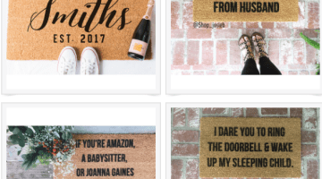 Doormat Welcome Mats That are Funny AF- Instagram worthy doormats you need -- Home Decor ideas and inspiration via frostedblog