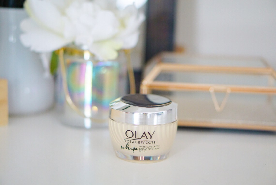 Olay Total Effects Whip with SPF 25 – My Summer Sunscreen Routine via frostedevents.com Beauty bloggers makeup and skincare reviews