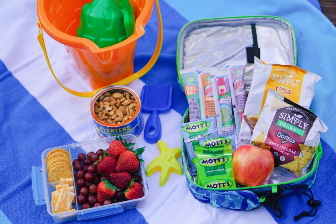 Snack Ideas for Spending a Day at the Beach - Beach Snacks and Picnic Ideas via Misty Nelson frostedevents.com