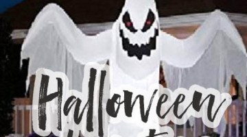 Halloween Blow Up Decorations for your Yard #halloweendecorations