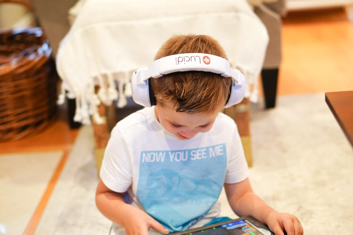Best Headphones for Kids - Lucid HearMuffs Trio Review via Misty Nelson of Frosted Blog, frostedevents.com