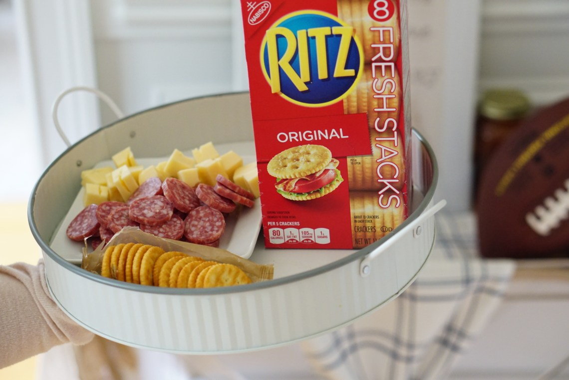 RITZ Crackers Party Snacks via Misty Nelson, frostedevents.com