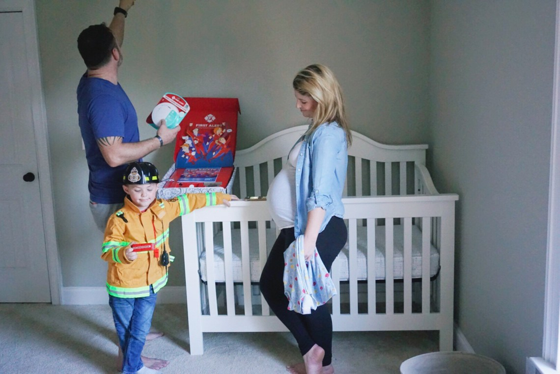 Fire Safety Month October- Fire Safety Tips via Misty Nelson, mom blogger & parenting influencer @frostedevents