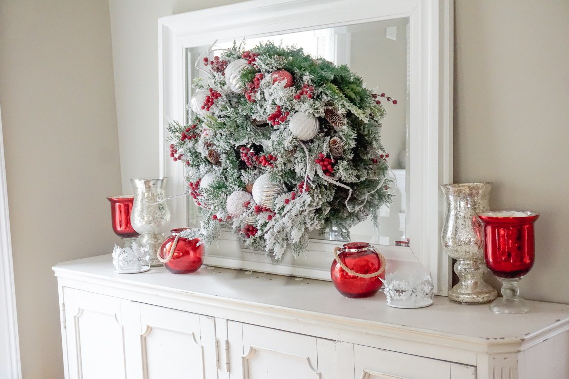 Artificial Christmas Tree - Holiday Decor All Around the House - Christmas Tree Ideas via Misty Nelson, frostedblog @frostedevents.com