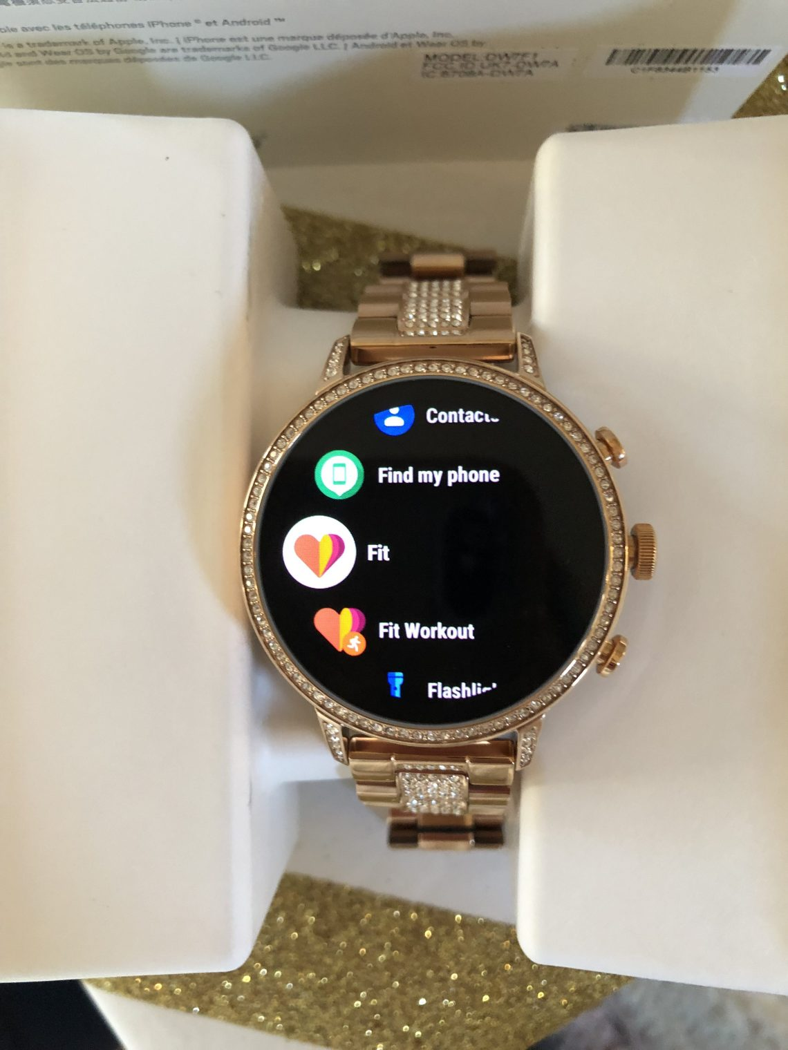 OS by Google Fossil - Gen 4 Venture HR Smartwatch- Gifts for Her