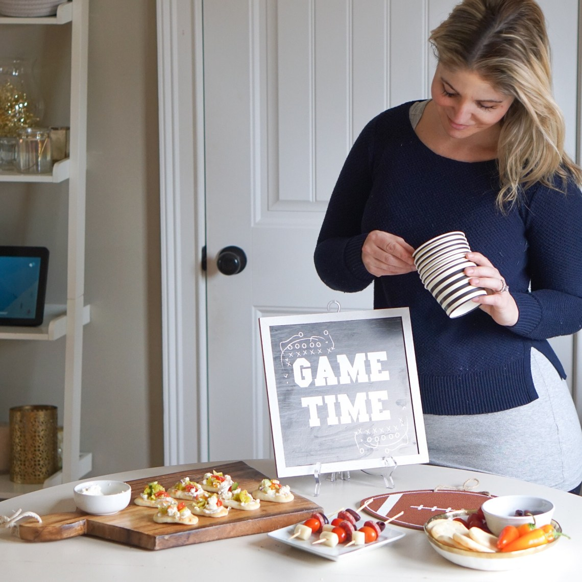 Party Snack Food in Fifteen Minutes - Game Day Grub and Football Party Ideas via Frosted Blog
