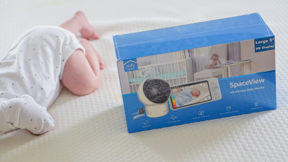 Baby Monitors - Nursery Baby Cam review - eufy Spaceview baby monitor - Nursery essentials
