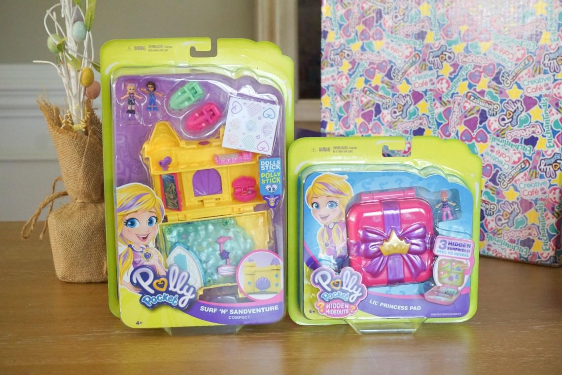 Easter Basket Ideas for Kids - Kids Toys Mattel - Enchantimals, Pooparoos, Lil Gleemerz, Polly Pocket and Creative Cafe