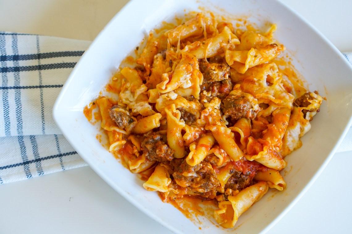 Easy Lasagna Recipe - 30 Minute Dinners - Ninja Foodi Pressure Cooker and Air Fryer
