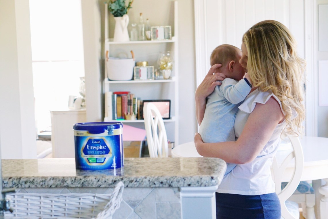 Supplementing with Formula – Our Feeding Story - Enfamil Enspire Supplement Baby Formula