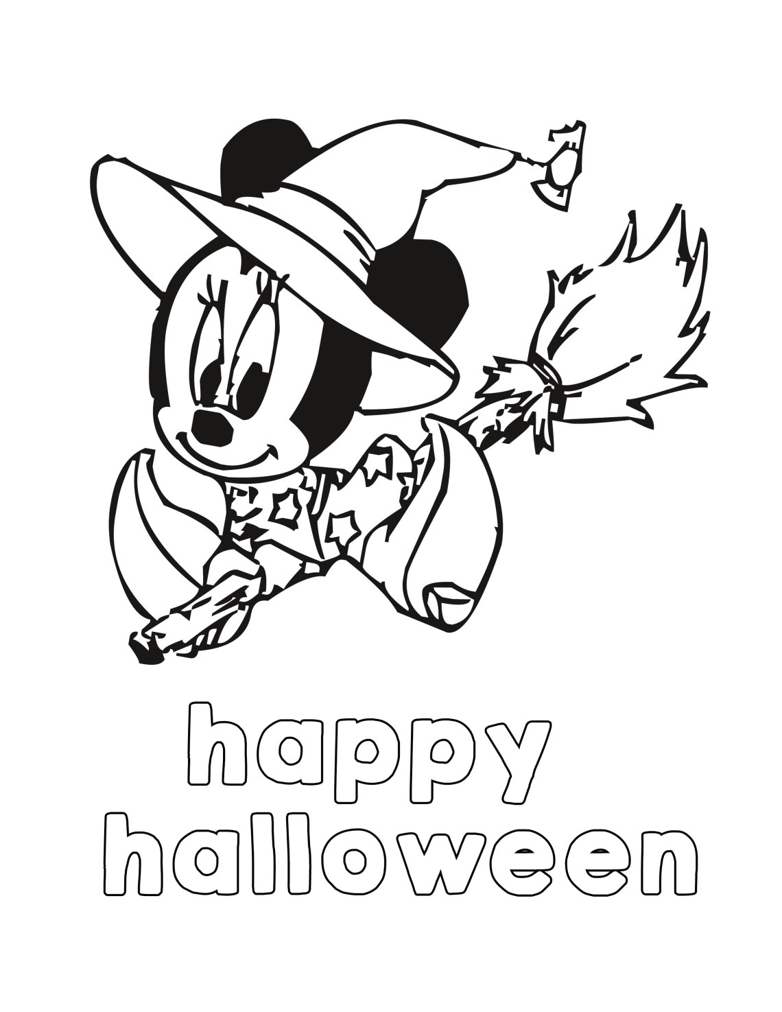 Halloween Coloring Pages -Disney Halloween- free printable coloring pages for kids - Misty Nelson @frostedevents