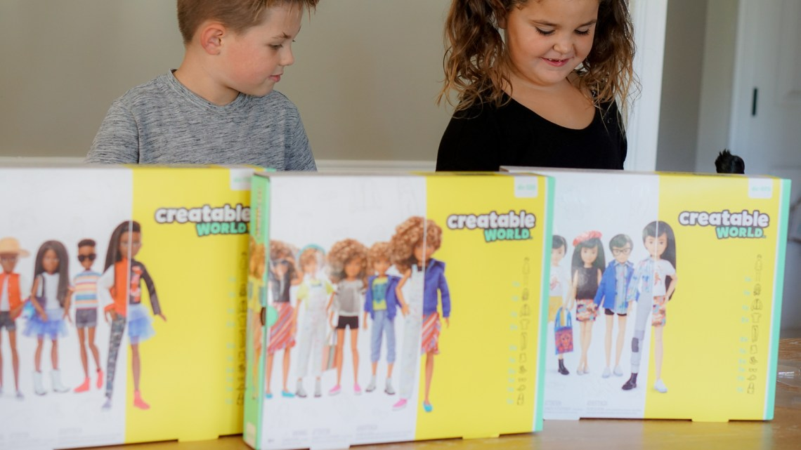 Creatable World Mattel's Gender-Neutral Dolls - Play Without Labels