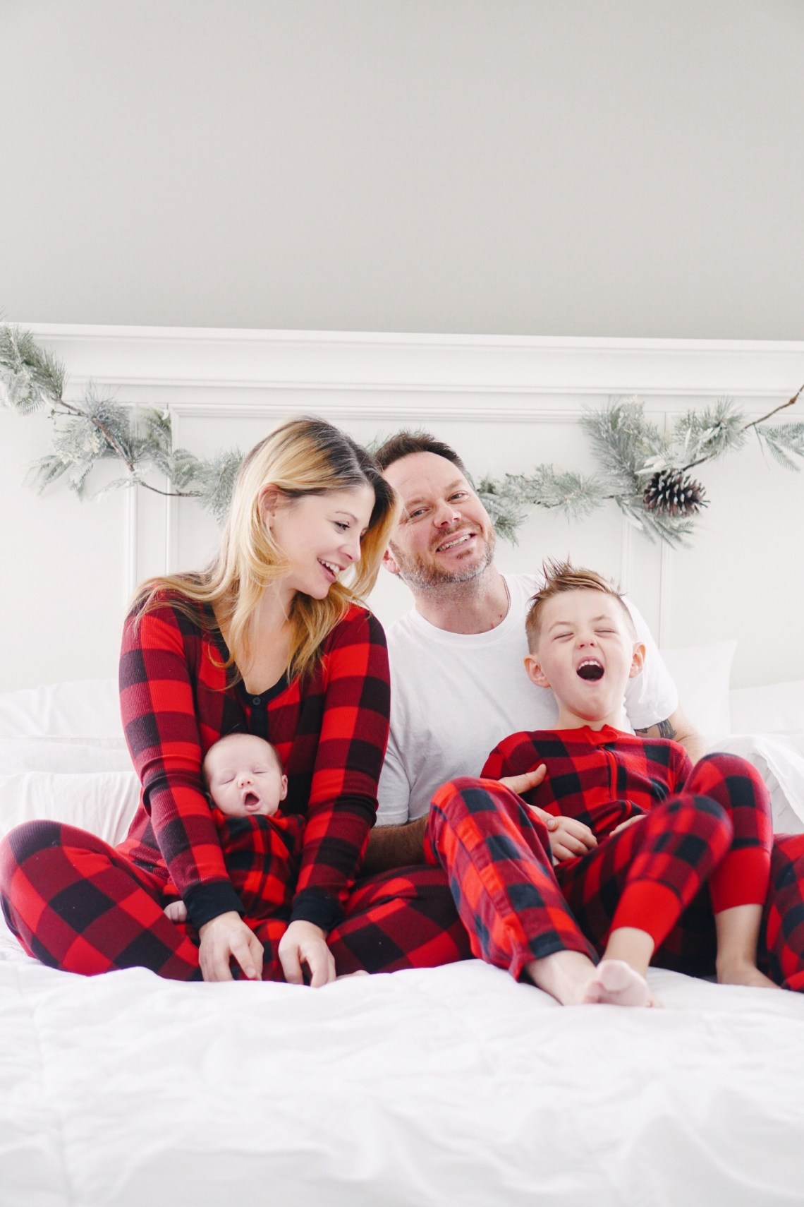 Matching Family Christmas Pajamas - Holiday traditions via Misty Nelson @frostedevents