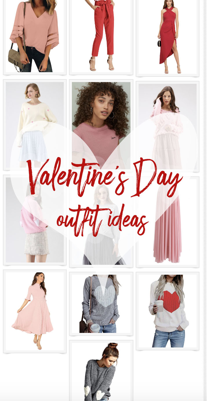 Valentines Day Outfit Ideas From Casual Cute To Super Sexy