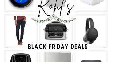 Kohls Black Friday Sale - Best Deals 2020