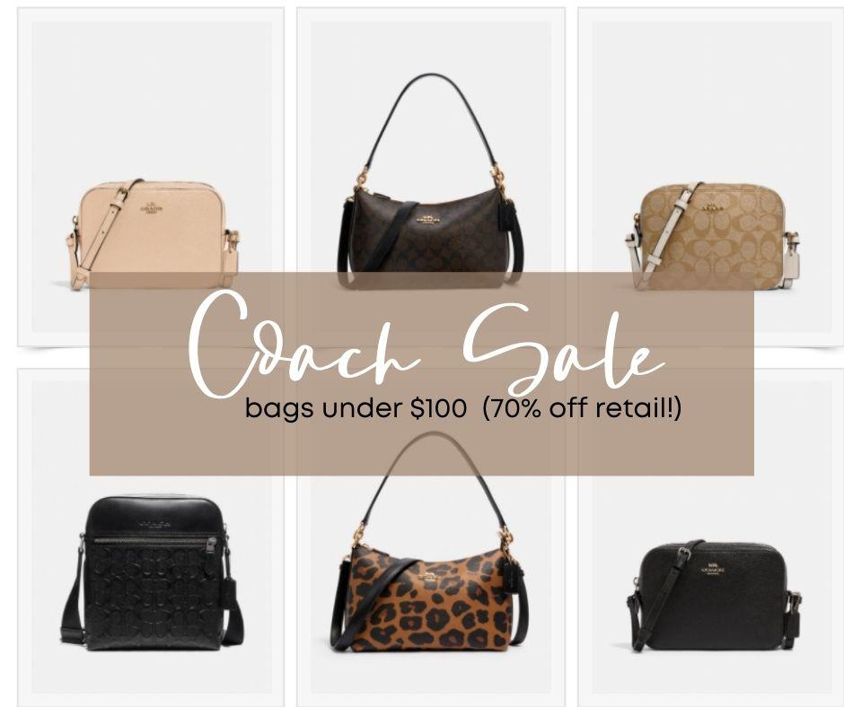 Coach Bag Sale - designer handbags