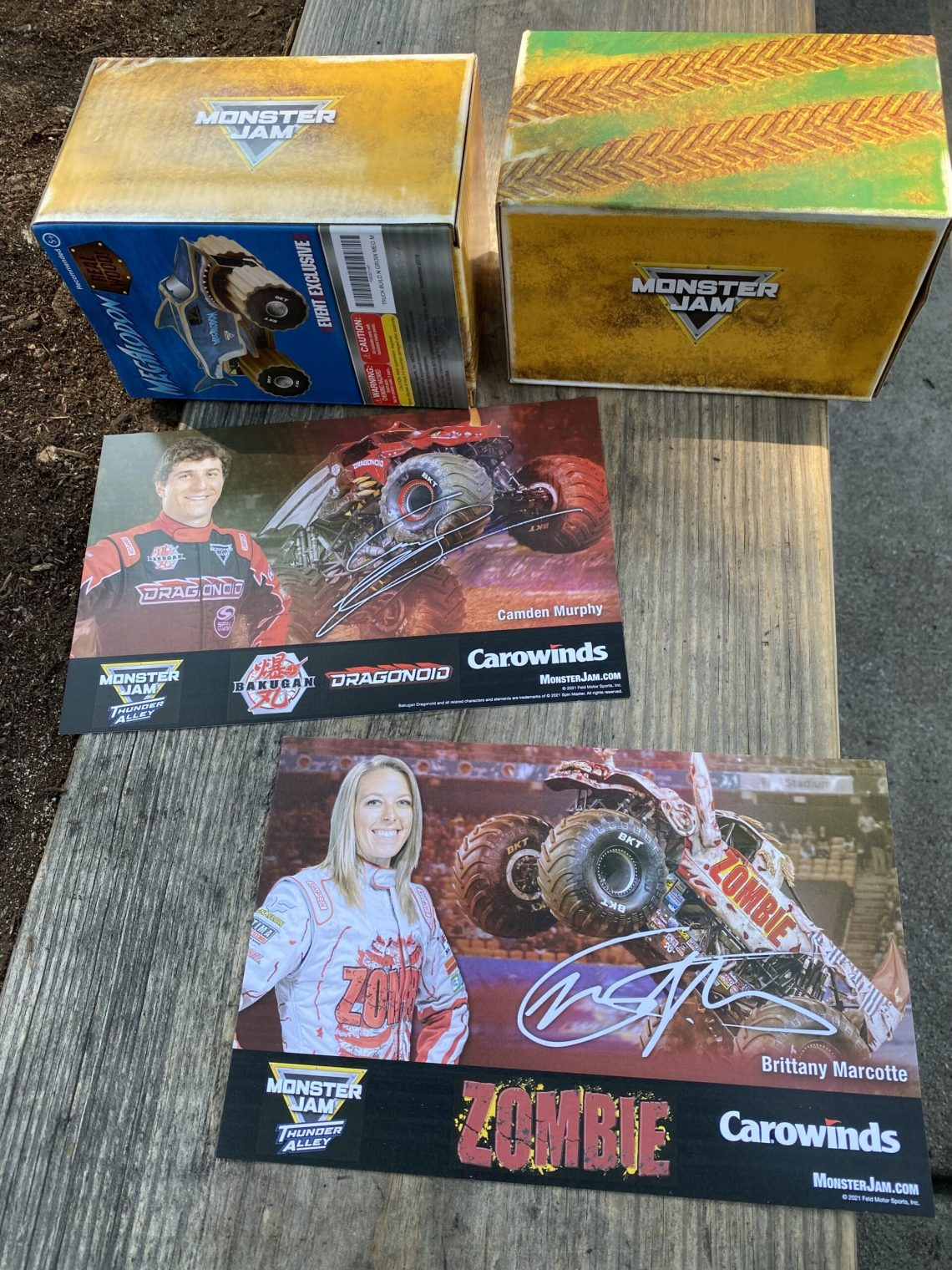 Monster Jam Thunder Alley at Carowinds- Meet and Greet with drivers