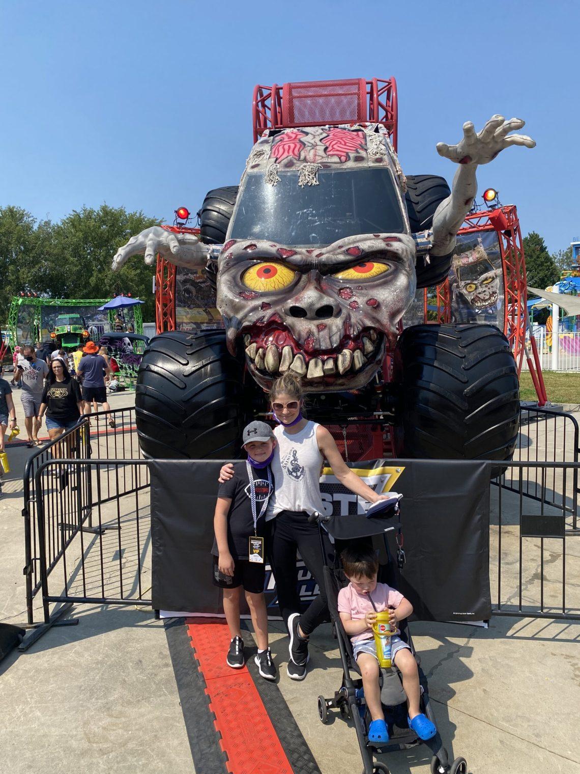 Monster Jam tickets Zombie truck