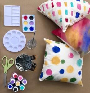 Watercolor Pillows