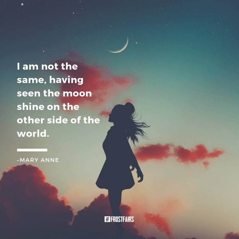 "Quote by Mary Anne Radmacher: ""I am not the same having seen ..."""