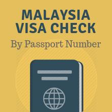 Malaysia Visa Check Status Online By Using Passport Number