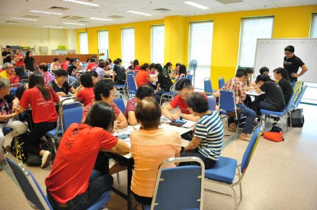 The Red Box Community Center Study Room, Somerset Rd, Singapore 238165