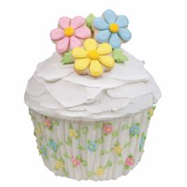Decorating Ideas for the Wilton     Giant Cupcake Pan   All Things Cupcake breathtaking blossoms cake