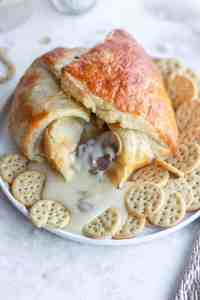 This baked brie is a great appetizer for any party
