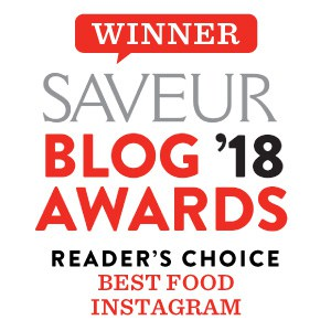 Saveur Blog award winner for best food Instagram