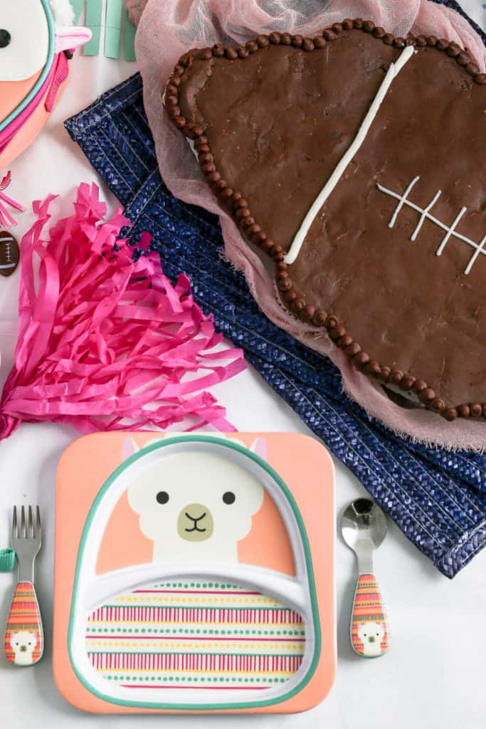 A Diy Pull Apart Cupcake Cake In The Shape Of Football