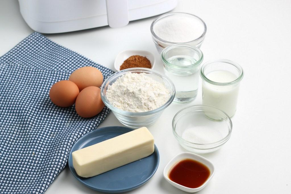 ingredients for air fryer churros