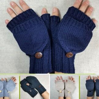 Öko Fausthandschuhe mit Kappe, Bio, Übersicht