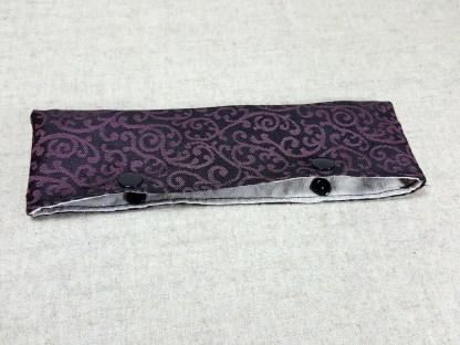 Nadelgarage pink schwarz