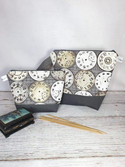 Projekttasche mit Uhren