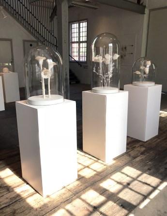 Cecila Levys verk visades i Underhållsverkstaden 2018 under utställningen Extrakt.