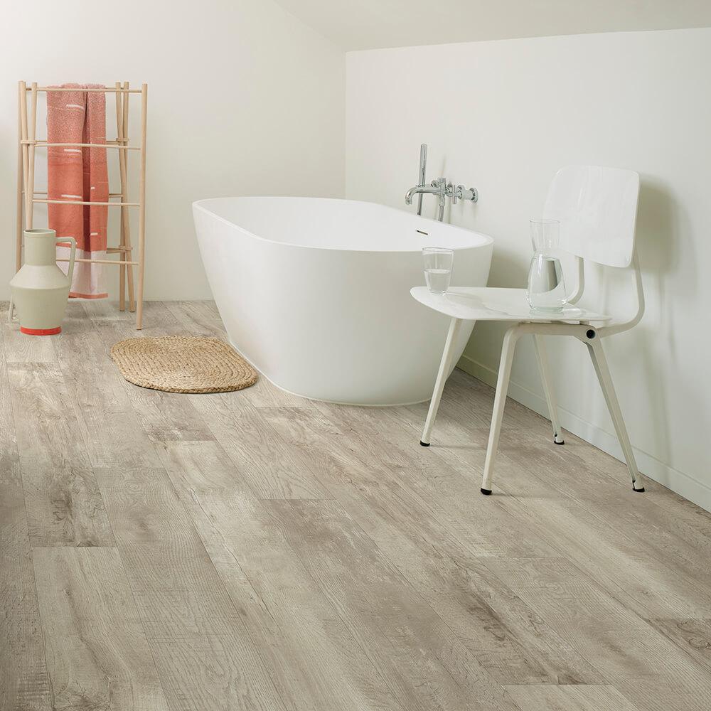 luxury vinyl bathroom flooring moduleo