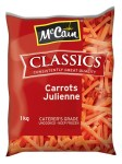 Frozen Carrots Julienne 1kg