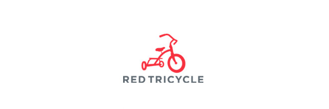 press red tricycle